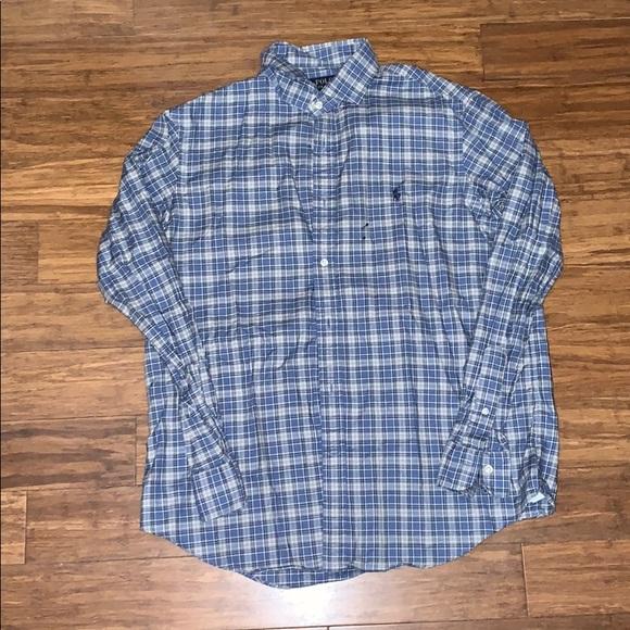 Plaid Ralph Lauren Button up shirt